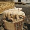 Скульптуры Медведи2