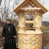 Домик для колодца с ангелами