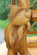 Домик для колодца ''Золотые рыбки''