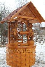 Домик для колодца ''Медведи''