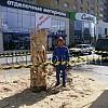 Резьба бензопилой в Рязани-...