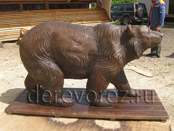 Медведь садовая фигура