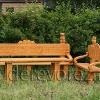Резная садовая мебель