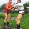Скульптуры борцов