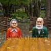 Парковая скульптура. Ветераны