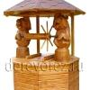 Домик для колодца с медведями