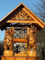 Домик для колодца ''Медведи-2''