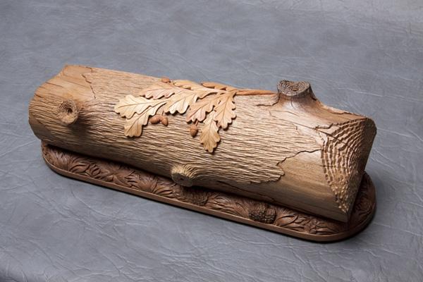 Борзов Александр - жанровые сценки в деревянной резьбе